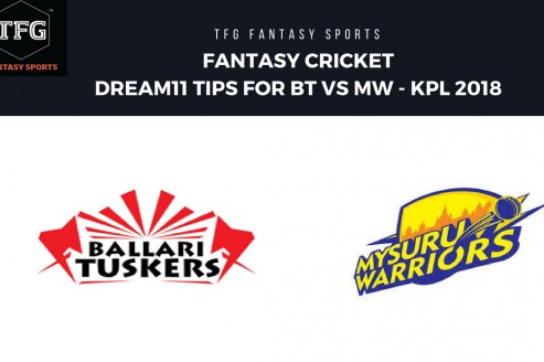 Fantasy Cricket: Dream11 tips for KPL T20-- Bellari Tuskers v Mysuru Warriors