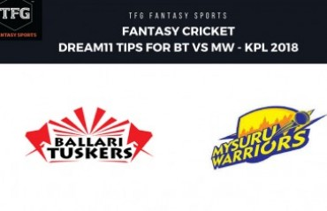 Fantasy Cricket: Dream11 tips in Hindi for KPL T20-- Bellari Tuskers v Mysuru Warriors