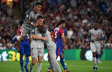 Premier League: Liverpool win 2-0 away to Crystal Palace