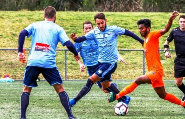 India Under 23 lose 0-3 to A-League side Sydney FC