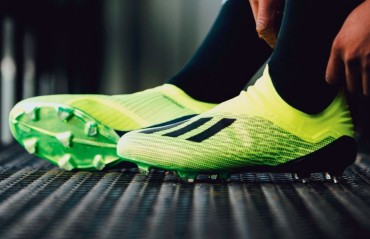 HEAD OVER CLEATS: Adidas net a stunning brace with the unapologetically bold Predator 18+ and X18+