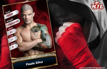 "Kumite 1 League signs on prominent Brazilian MMA fighter Paulo ""Bananada"" Silva"