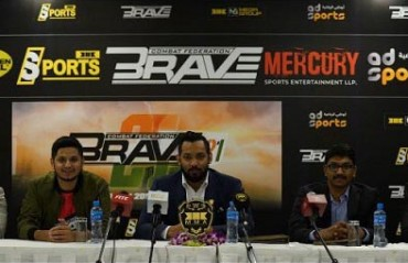 Brave Combat Federation and Mercury Sports Entertainment bring 70 Million USD 'Brave CF' League to India