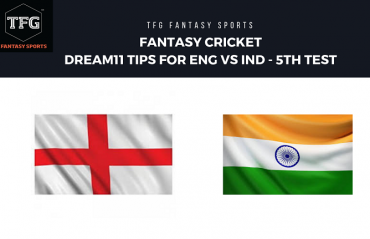 Fantasy Cricket - Dream 11 tips for England vs India -- 5th Test