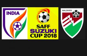 SAFF Championship 2018 -- India ease past Maldives, set up semi-final clash with Pakistan