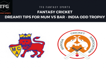 Fantasy Cricket - Dream 11 tips for Mumbai vs Baroda -- Vijay Hazare Trophy