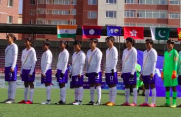India U-16 girls put four goals past Pakistan