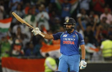 Rohit praises bowlers after win over Pakistan