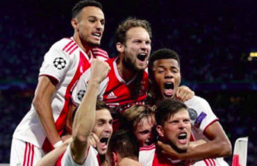 UEFA Champions League -- Ajax sink Athens thanks to Tagliafico's brace