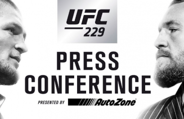 LIVE STREAM -- UFC 229 Press Conference -- Khabib Nurmagomedov vs Conor McGregor