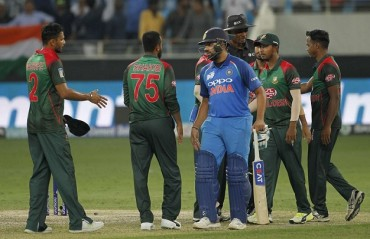 Asia Cup: Rohit, Jadeja star in India's 7-wkt win over Bangladesh