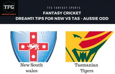 Fantasy Cricket: Dream11 tips in Hindi for NSW Blues vs Tasmania Tiger -- Aussie ODD -- JLT Cup