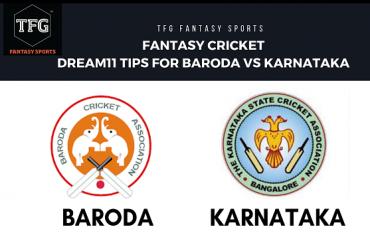 Fantasy Cricket: Dream 11 tips for Baroda vs Karnataka -- Indian ODD -- Vijay Hazare Trophy