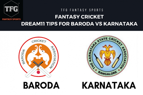 Fantasy Cricket: Dream 11 tips for Baroda vs Karnataka -- Indian ODD -- Vijay Hazare Trophy