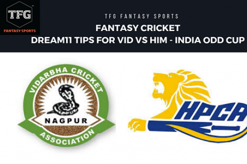 Fantasy Cricket: Dream 11 tips for Vidarbha vs Himachal Pradesh -- Indian ODD -- Vijay Hazare