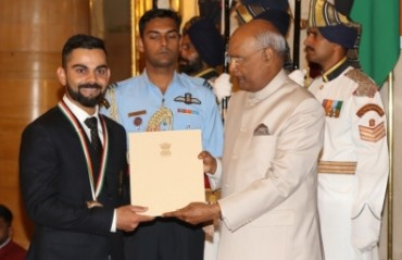 BCCI congratulates Virat, Smriti for national awards