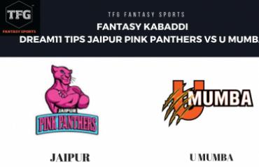 Fantasy Kabaddi - Dream 11 tips in Hindi for U Mumba vs Jaipur Pink Panthers - Pro Kabaddi