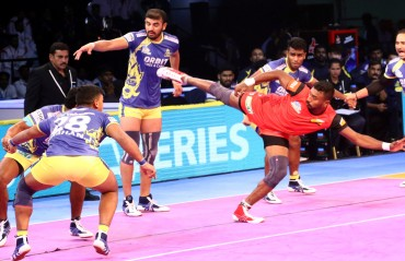 Outstanding performance by Bengaluru Bulls ends in a third consecutive loss for home team Tamil Thalaivas in VIVO Pro Kabaddi Season VI