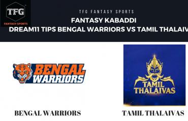 Fantasy Cricket: Dream 11 tips for Tamil Thalaivas vs Bengal Warriors -- Pro Kabaddi