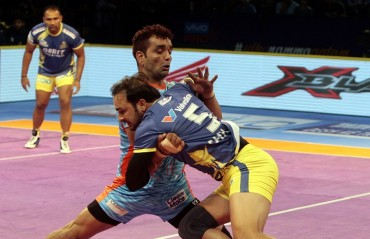 Impressive performance by Bengal Warriors results (36-27) in a fourth consecutive loss for home team Tamil Thalaivas