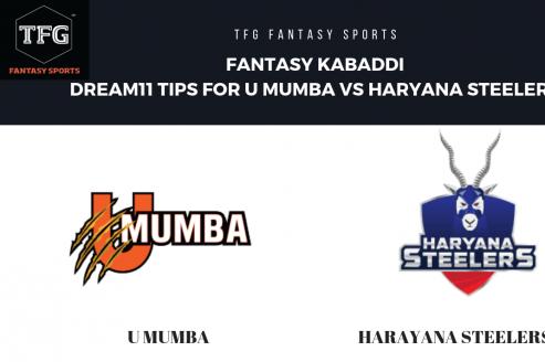 Fantasy Kabaddi - Dream 11 tips for Haryana Steelers vs U Mumba