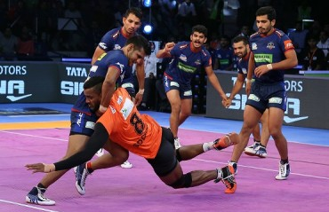 U Mumba kept their unbeaten streak going as they beat Haryana Steelers 42-32