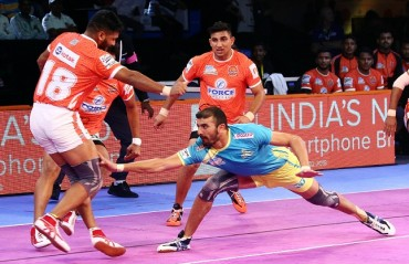 Tamil Thalaivas ended their five-match losing streak by registering an impressive 36-31 victory over Puneri Paltan
