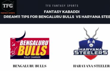 Fantasy Kabaddi - Dream 11 tips in Hindi for Haryana Steelers vs Bengaluru Bulls