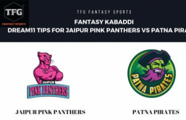 Fantasy Kabaddi - Dream 11 tips in Hindi for Jaipur Pink Panthers vs Patna Pirates
