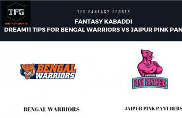 Fantasy Kabaddi - Dream 11 tips for Bengal Warriors vs Jaipur Pink Panthers