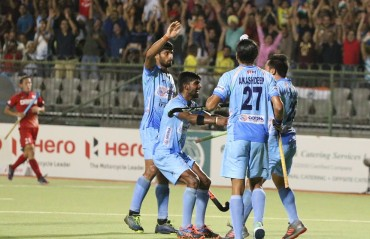Indian Men's Hockey Team beat Japan 3-2 to progress to Final of the Hero Asian Champions Trophy