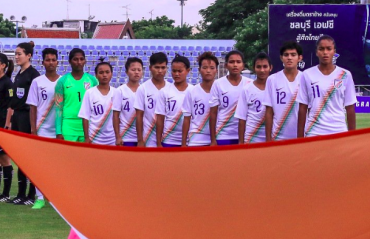 AFC U-19 Womens' Championship Qualifiers - Thailand vs India LIVE STREAM