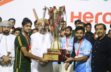 India and Pakistan joint winners after thunderstorm hits Muscat