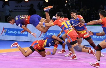 UP Yoddha win their third match in Vivo Pro Kabaddi League Season VI as they defeated Dabang Delhi KC