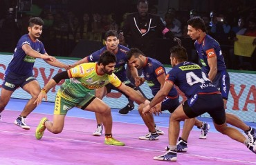 Haryana Steelers won the match 42-32 against Patna Pirates to win their third match in Vivo Pro Kabaddi League Season VI.