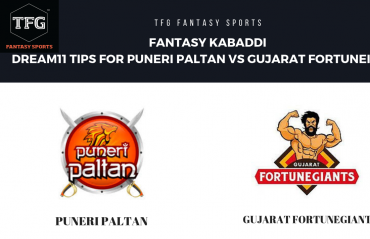 Fantasy Kabaddi - Dream 11 tips for Gujarat Fortune Giants vs Puneri Paltan
