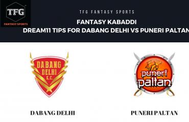 Fantasy Kabaddi - TFG Fantasy Sports tips for Puneri Paltans vs Dabang Delhi -  Pro Kabaddi