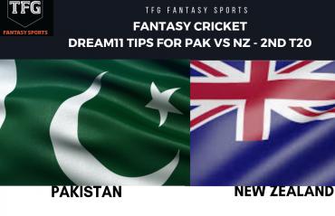 Fantasy Cricket: Dream11 tips for Pakistan v New Zealand 2nd T20