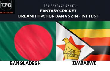 Fantasy Cricket: Dream11 tips for Bangladesh v Zimbabwe 1st Test