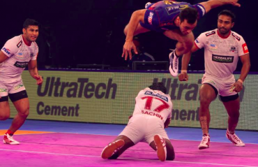 Pro Kabaddi 2018 -- Dabang Delhi return to winning ways, beat Haryana Steelers by 6 points