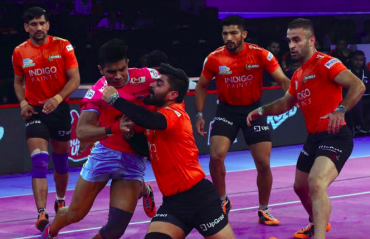 Pro Kabaddi 2018 -- U Mumba earn dominant home victory over Jaipur Pink Panther
