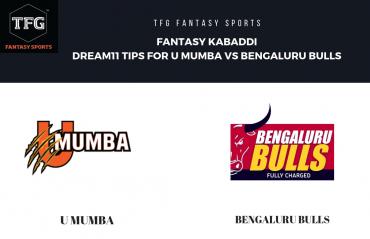 Fantasy Kabaddi - TFG Fantasy Sports tips for U Mumba vs Bengaluru Bulls