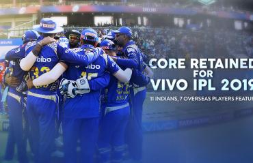 Mumbai Indians retain 18 players for IPL 2019