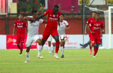 I-league 2018-19 - Plaza plows through Lajong defence with scorching hat-trick as Churchill win 4-2 goalfest