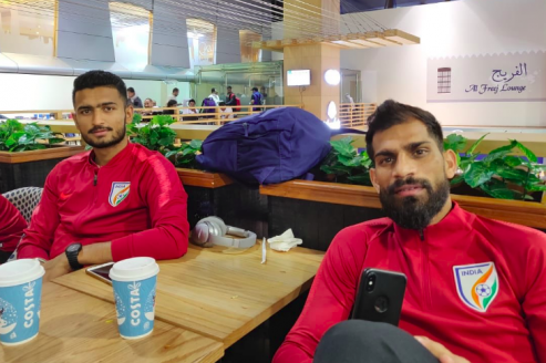 Indian players go through nightmare en route to Jordan for Saturday's international friendly