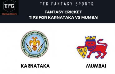 TFG Fantasy Sports: Fantasy Cricket tips for Mumbai v Karnataka-- Ranji Trophy