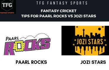 TFG Fantasy Sports: Fantasy cricket tips for Paarl Rocks v Jozi Stars--Mzansi T20