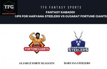 TFG Fantasy Sports: Fantasy Kabaddi tips for Gujarat Fortune Giants vs Haryana Steelers - Pro Kabaddi