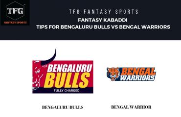 TFG Fantasy Sports: Fantasy Kabaddi tips for Bengaluru Bulls vs Bengal Warriors - Pro Kabaddi