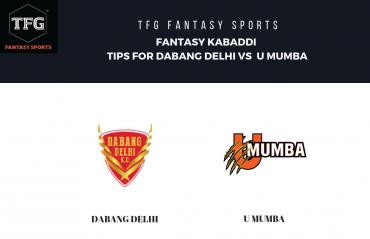 TFG Fantasy Sports: Fantasy Kabaddi tips for Dabang Delhi vs U Mumba - Pro Kabaddi